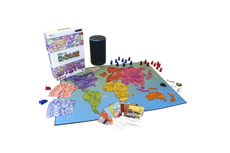 Sensible Object Voice Original When In Rome Travel Trivia Kids Board Game 13y+