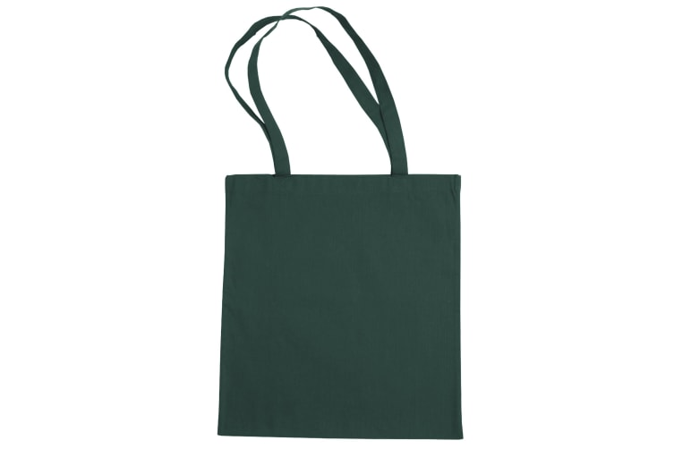 """Jassz Bags """"Beech"""" Cotton Large Handle Shopping Bag / Tote (Pack of 2) (Petrol) (One Size)"""