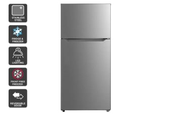 Kogan 535L Top Mount Fridge - Stainless Steel