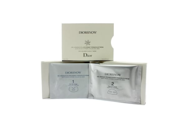 Christian Dior Diorsnow White Reveal Extreme Cooling Gel Mask (12x13ml/0.43oz)