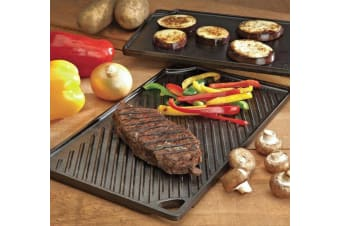 Lodge Logic Double Play Reversible Grill 42.5 x 24cm
