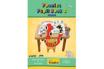 Jolly Phonics Pupil Book 3 (colour edition) - in Print Letters (British English edition)