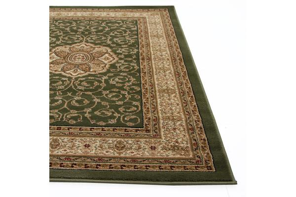 Medallion Classic Pattern Rug Green 290x200cm