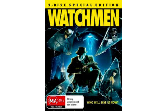 Watchmen - Rare- Aus Stock DVD PREOWNED: DISC LIKE NEW
