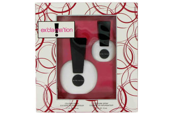 Coty Exclamation Gift Set - Cologne Spray + .5 oz Cologne Spray
