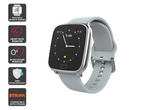Kogan Pulse+ Wellbeing Smart Watch (Grey)