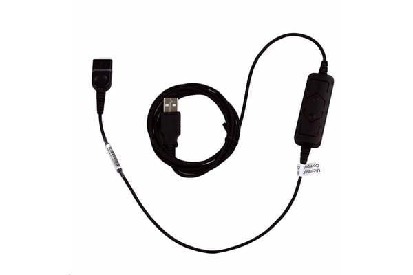 Addcom ADDQD-76 USB to QD Cable Vol. & Mute LYNC Comp