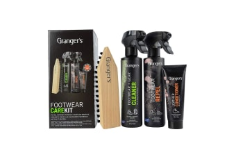 Grangers Footwear Clean & Proof Kit 275mL