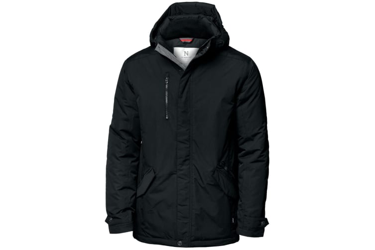 Nimbus Mens Avondale Water Resistant Winter Jacket (Black) (XL)