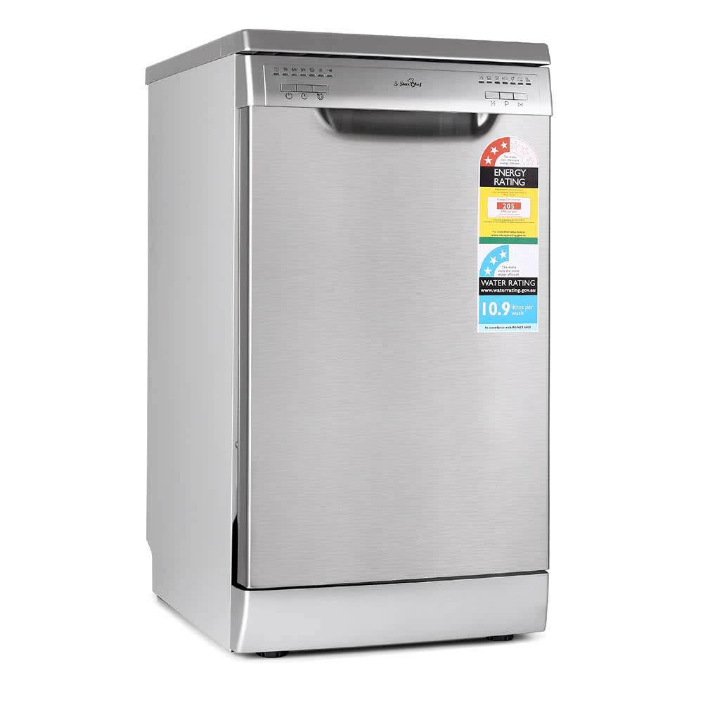 Stainless Steel Freestanding Dishwasher 45cm