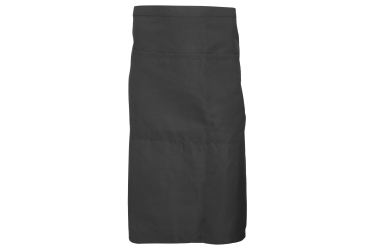 Dennys Adults Unisex Catering Waist Apron With Pocket (Peat) (One Size)