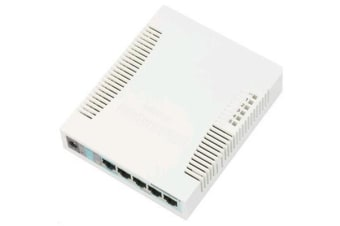 MikroTik RB260GS 5 Port Gigabit Managed Switch with SFP Port