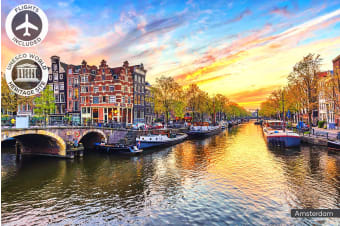 EUROPE: 16 Day European Highlights Including Flights for One or Two