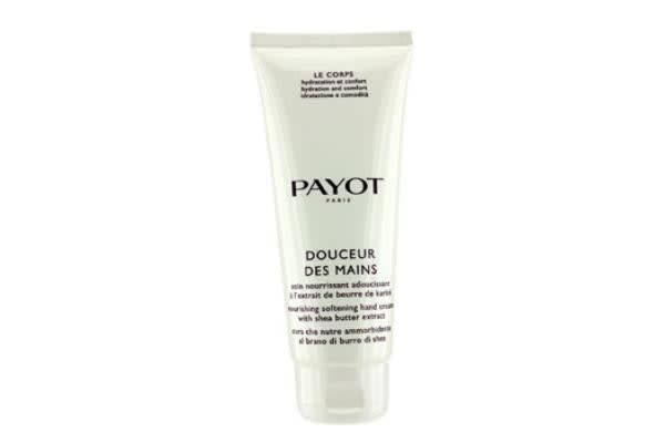 Payot Le Corps Douceur Des Mains Nourishing Softening Hand Cream With Shea Butter Extract  (Salon Size) (200ml/6.7oz)