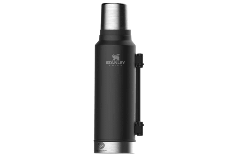 STANLEY CLASSIC 1.4L INSULATED VACUUM THERMOS FLASK BOTTLE - BLACK