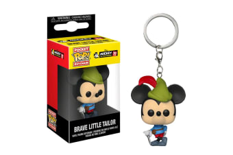 Mickey Mouse 90th Brave Little Tailor Pop! Keychain