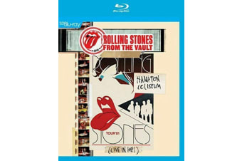 The Rolling Stones HAMPTON COLISEUM - LIVE 1981 Blu-Ray NEW Sealed AUSTRALIA