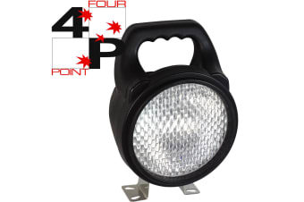 FOUR POINT HID UTILITY WORKLIGHT WORK LAMP 12V 12 VOLT NEW 35W 35 WATT SPREAD