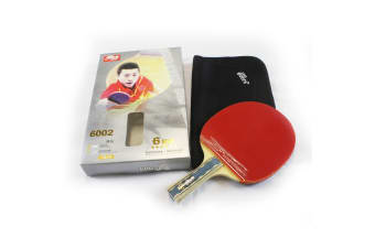 DHS 6002 6 Star Table Tennis Bat Racket Long Handle Ping Pong Paddle Shakehand