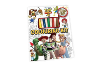 Toy Story 4 - Colouring Kit