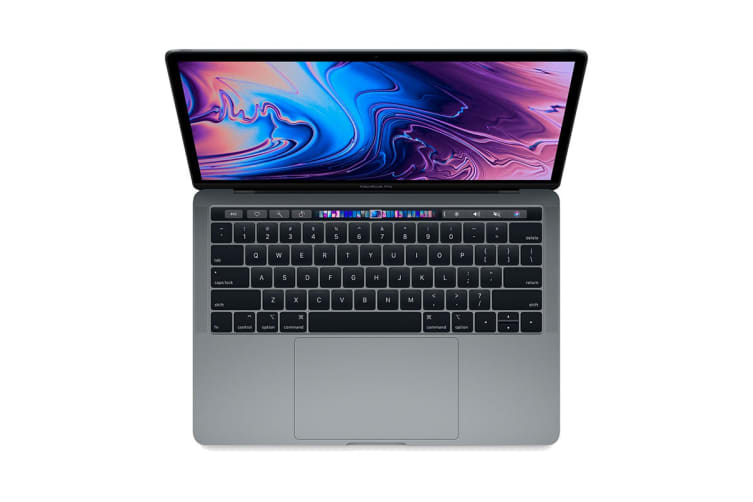 """Apple 13"""" MacBook Pro with Touch Bar (2.3Ghz i5, 8GB RAM, 256GB SSD, Space Grey) - MR9Q2"""
