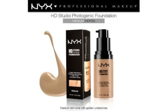 Nyx Hd Studio Photogenic Foundation #Hdf05 Medium Coverage Wrinkle Reduction