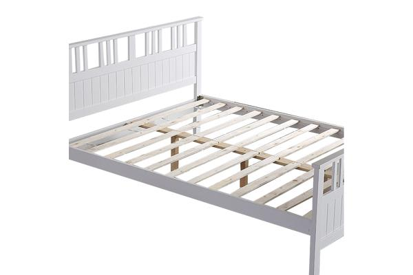 100% Artiss Pine Timber Wood Bed Frame SINGLE