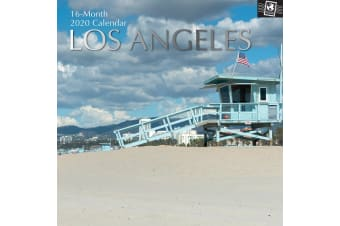 Los Angeles 2020 Premium Square Wall Calendar 16 Months New Year Xmas Decor Gift