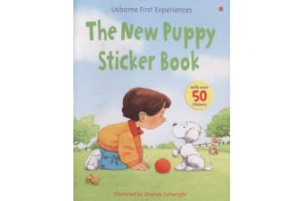 Usborne First Experiences New Puppy Sticker Book