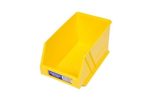 Fischer Plastic Regular Storage Drawer Yellow