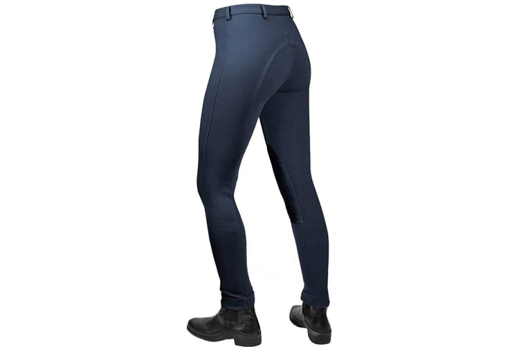 Saddlecraft Womens/Ladies Jiggy Jodhpurs (Navy) (30 inches)