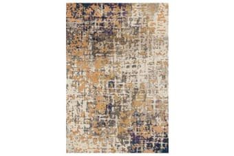 Sonia Contemporary Rug Rust Navy 330x240cm