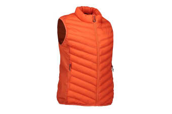 ID Womens/Ladies Stretch Bodywarmer (Orange) (2XL)