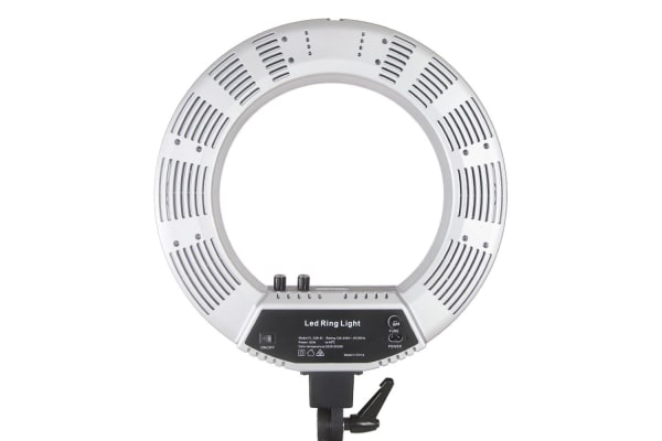 5800 Lumens Ring Light with Stand Silver