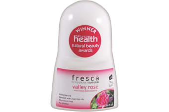 Fresca Natural Deodorant Valley Rose with Rosa Damascena 50ml