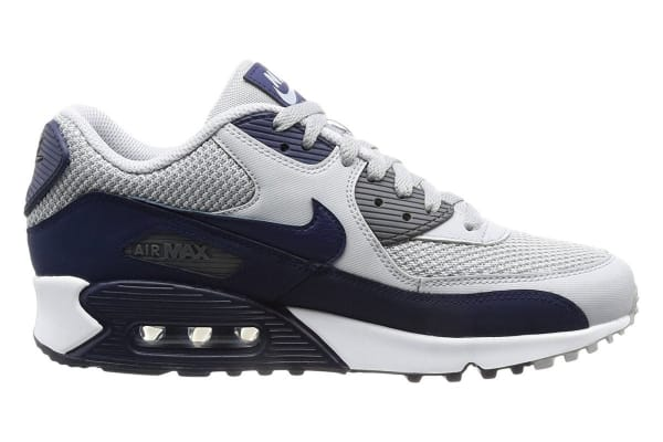 size 40 f9115 3d265 Nike Men s Air Max 90 Essential Shoe (Wolf Grey Blue White, Size 11)