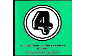 4 - A Collection Of Dance Anthems  BRAND NEW SEALED MUSIC ALBUM CD - AU STOCK