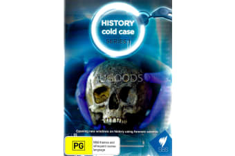 History cold case Season 1 - Series Region All Rare- Aus Stock DVD NEW