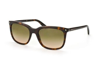 Prada Journal PR12RS - Havana (Grey Gradient lens) Womens Sunglasses