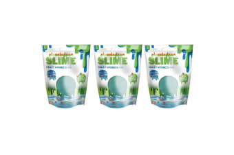 3x Nickelodeon Slime Crazy Hydro Slime Sea Burst