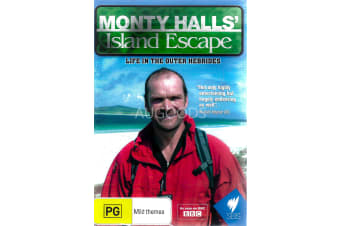 MONTY HALLS: ISLAND ESCAPE - Series Region All Rare- Aus Stock DVD NEW