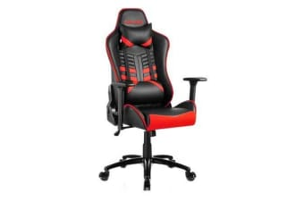 e-Sports Executive Computer Gaming Office Chair - Red and Black