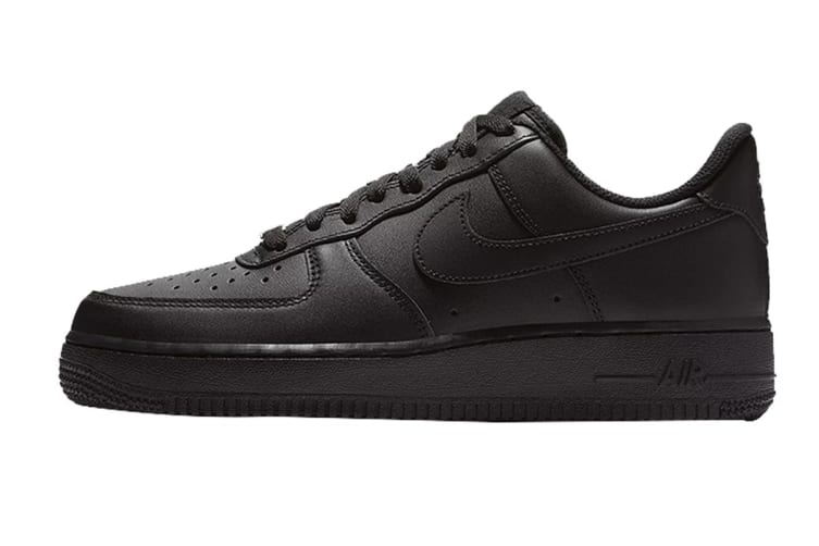 Nike Women's Air Force 1 (Black, Size 8 US)
