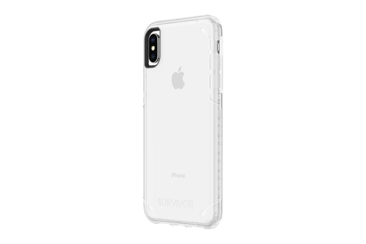 new style 15a2c 07e89 Griffin Survivor Strong Case for iPhone Xs Max - Clear