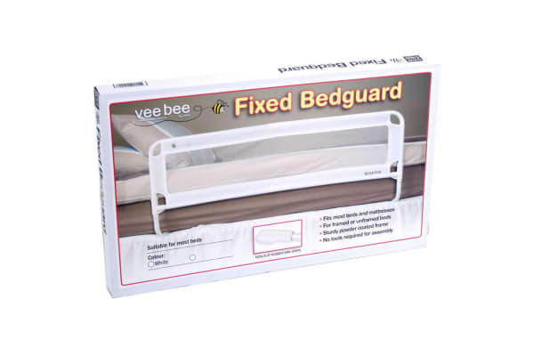 105cm White Safety Cot/Bed Rail Guard
