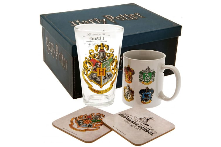 Harry Potter Official Gift Set (White) (One Size)