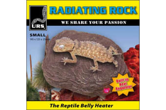 URS Reptile Small Radiating Heat Rock & Decoration - 14.5cm x 12.5cm x 2.5cm 6W