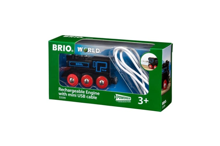 Brio Train Rechargeable Engine With Mini Usb Cable