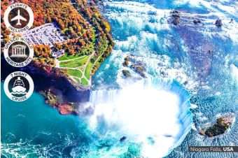 USA: 24 Day USA and Canada Tour with Alaska Cruise Including Flights for Two