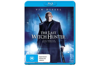 The Last Witch Hunter Blu-ray Region B